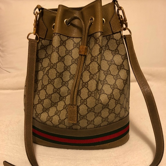 0161223c Gucci Bags | Authentic Vintage Bucket Bag | Poshmark